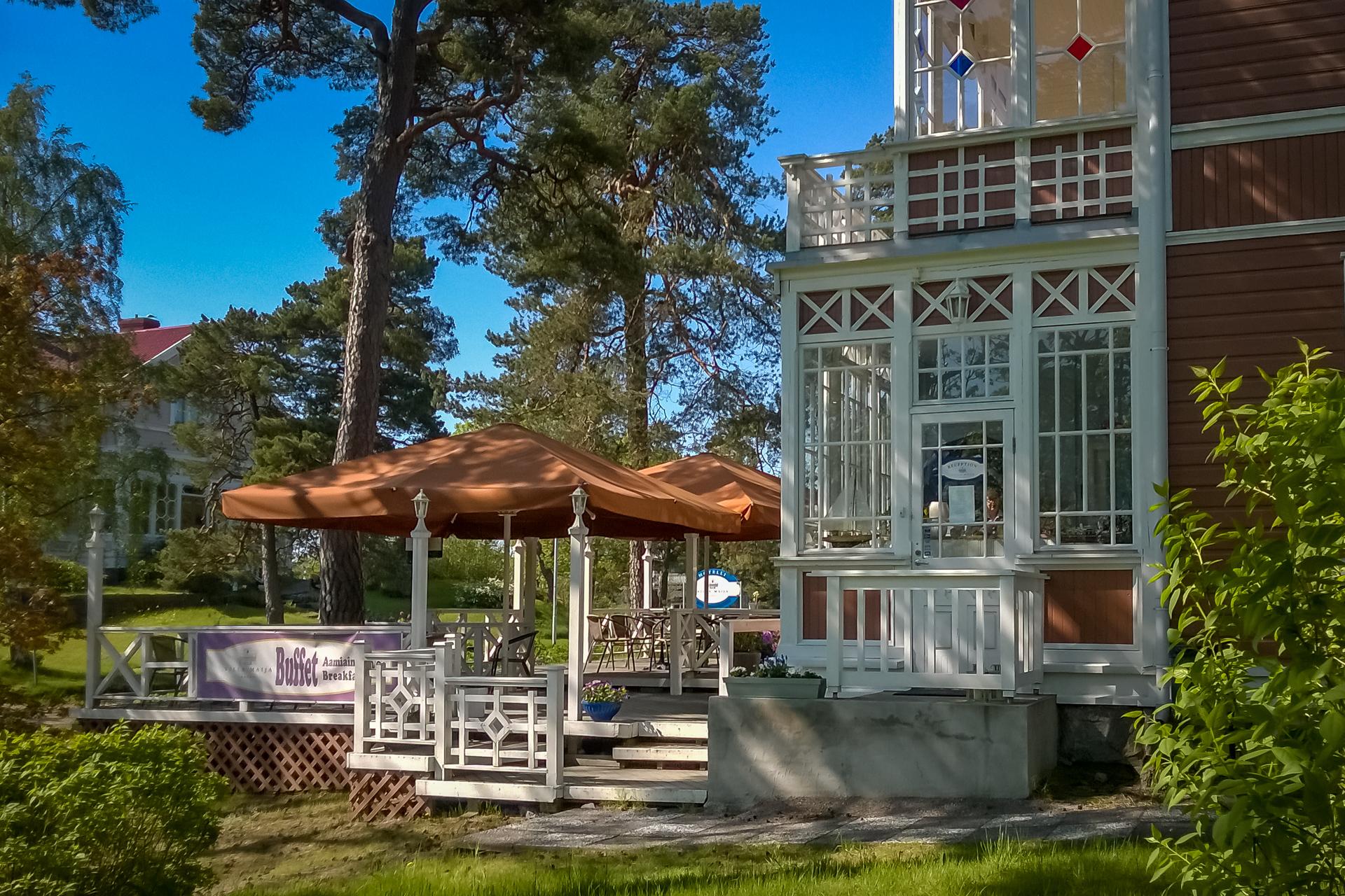 Nauti aamiaisesta - Hotelli Villa Maija Hanko