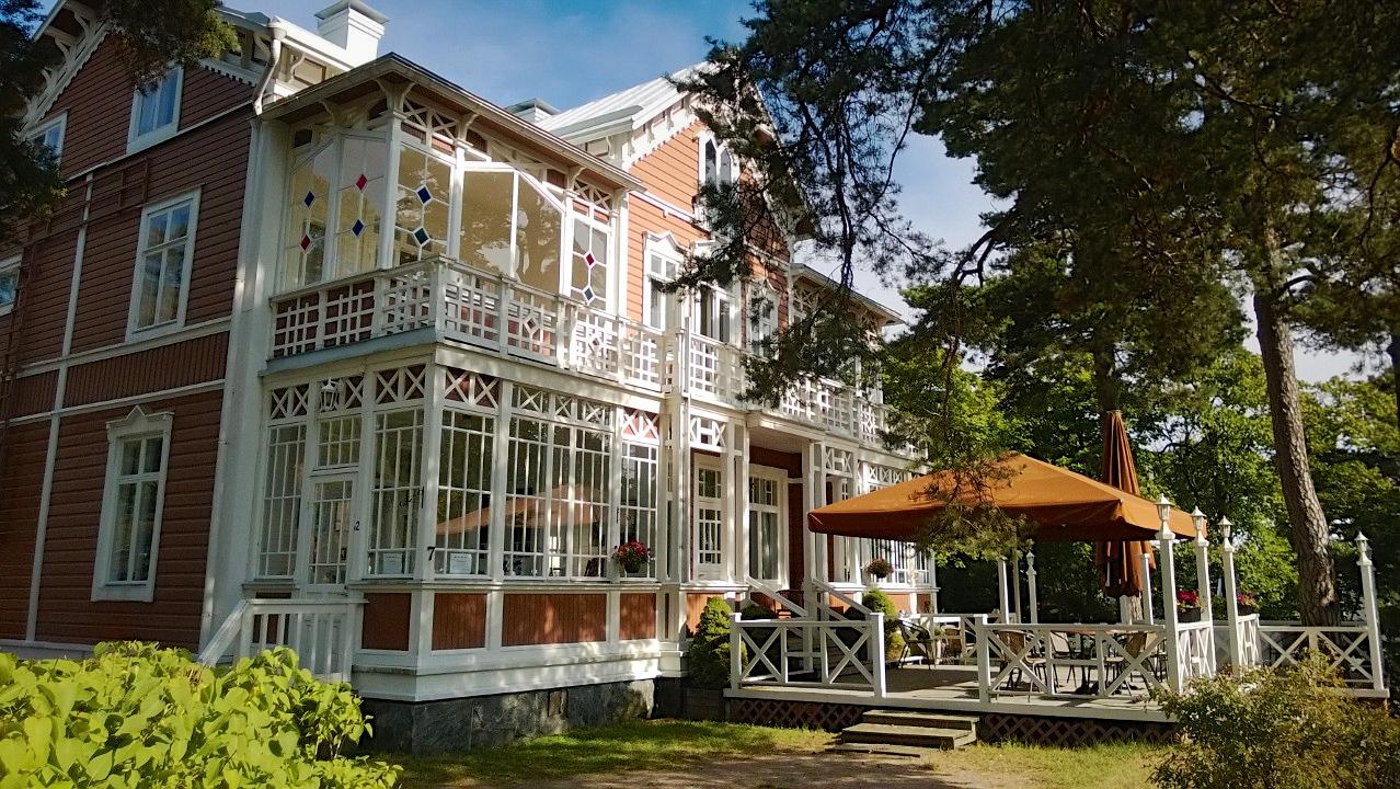 Esittely - Hotelli Villa Maija Hanko - Päärakennus