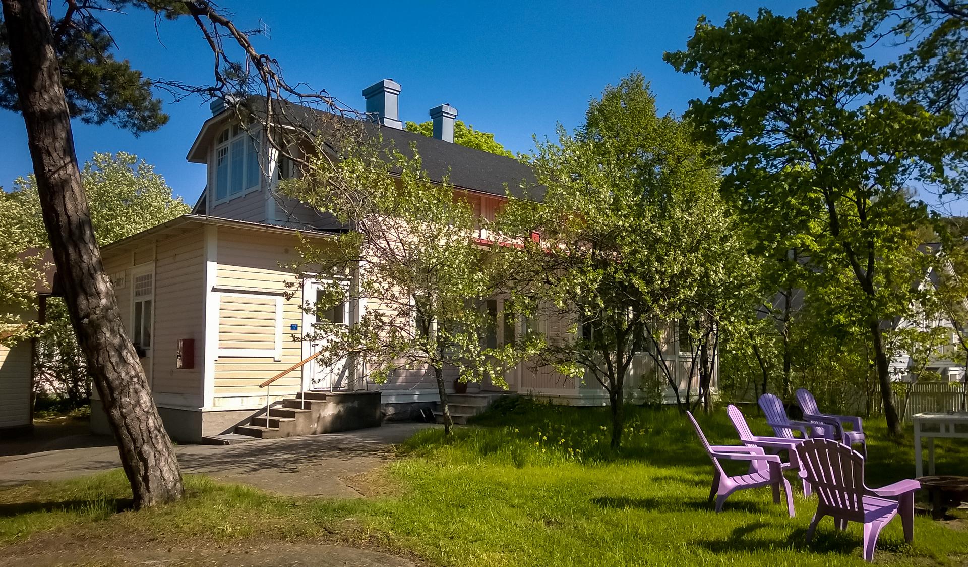 Esittely - Hotelli Villa Maija Hanko - Piharakennus Villa Anke