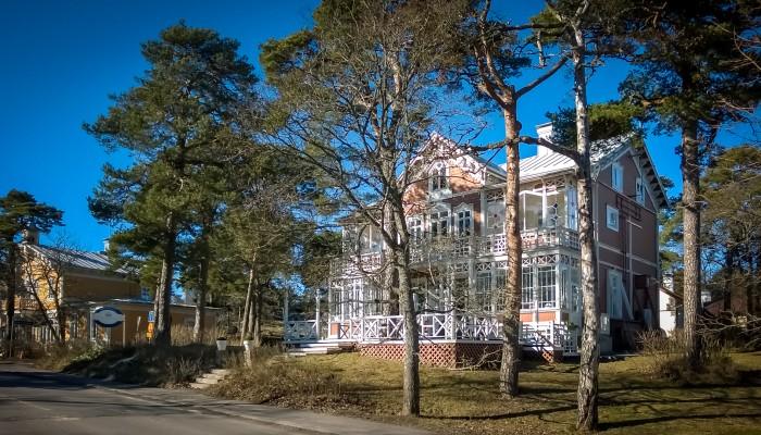 Hotel Villa Maija Hanko maaliskuussa 2015