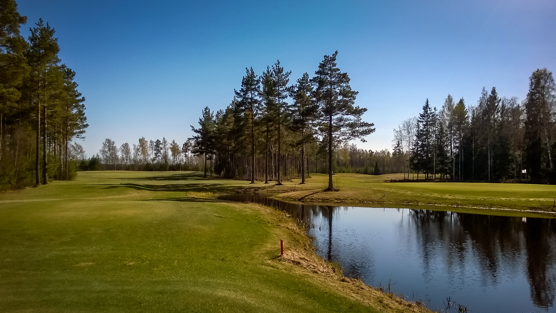 HanGolf Fairway View in May 2014.