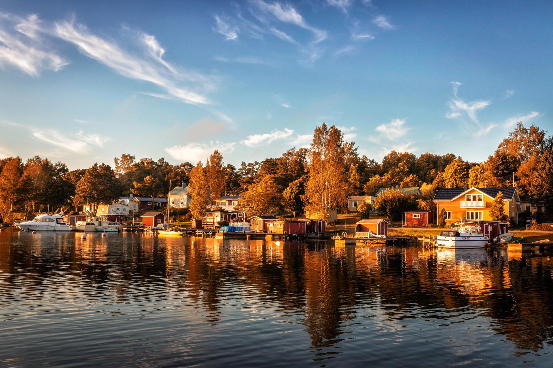 Hanko Finland, September 2016
