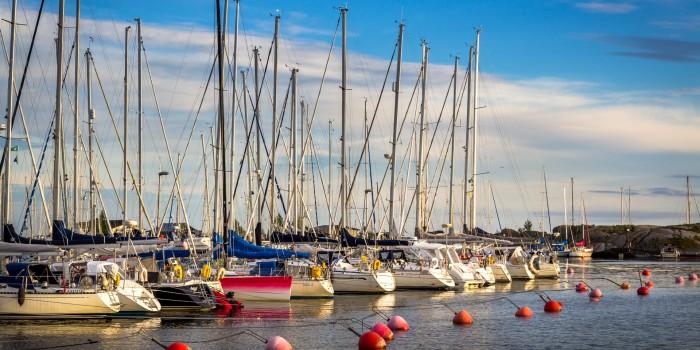 Eastern Harbour, Hanko Finland, July 2016