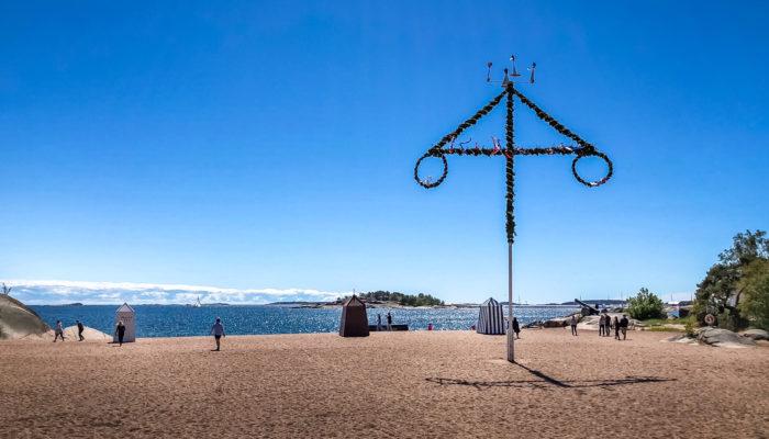 Juhannus, Hanko, Hangö, Finland, 2018