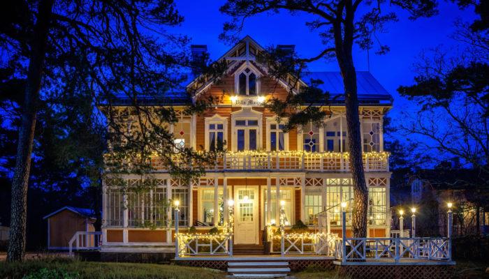 Villa Maija Julkisivu Uusi Vuosi 2021